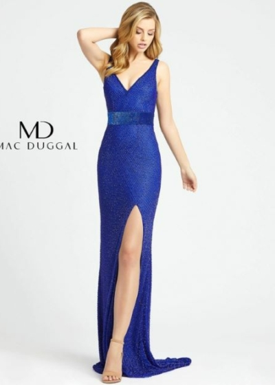 Mac Duggal 1070L Royal gown