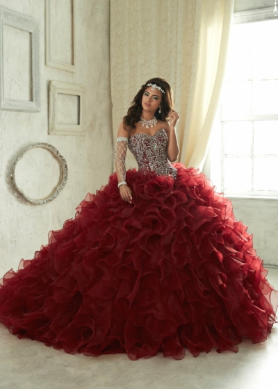 Quinceanera Gown House of Wu style 26833