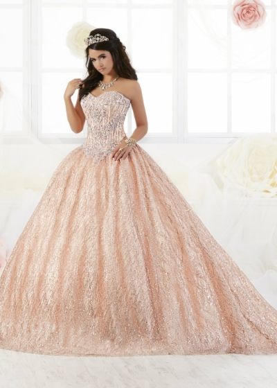 Quinceanera Gown House of Wu style 26896