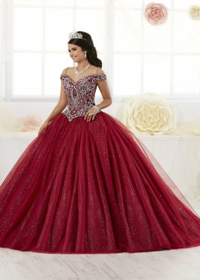 Quinceanera Gown House of Wu style 26899