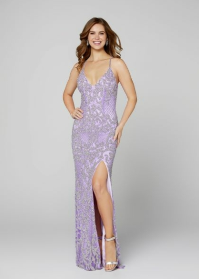 Primavera prom dress in lilac style 3214