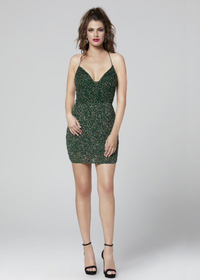 Primavera homecoming dress in emerald style 3308