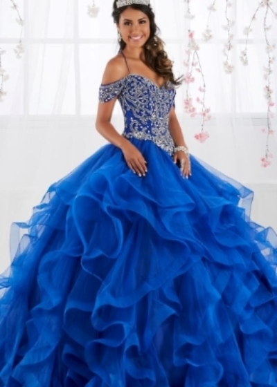 House of Wu royal Quinceanera gown