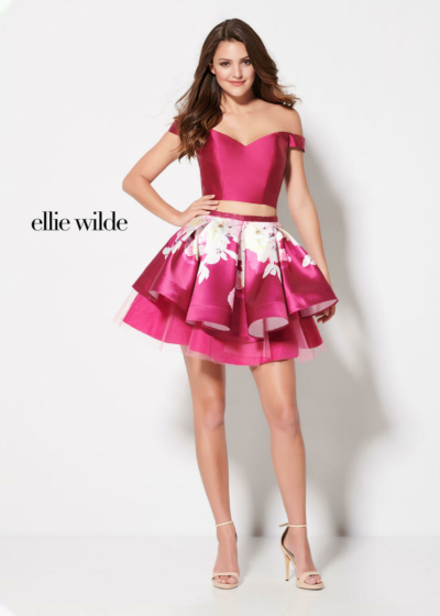Ellie Wilde homecoming dress style EW21909S