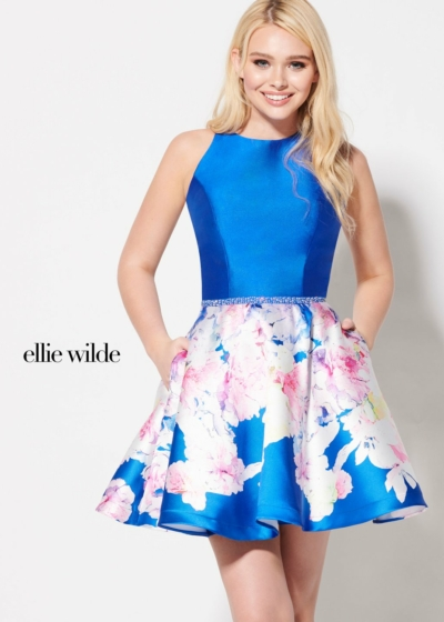 Ellie Wilde homecoming dress style EW21913S