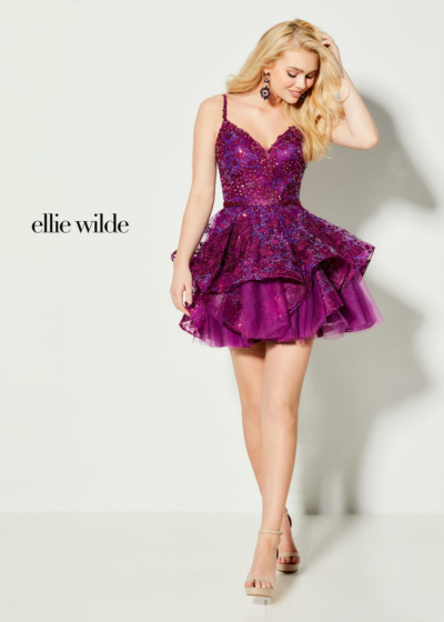 Ellie Wilde homecoming dress style EW21916S