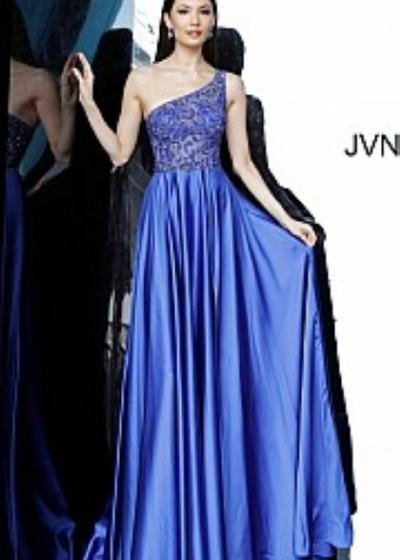 JVN4277 royal A line gown