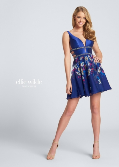 Ellie Wilde homecoming dress style EW21707S